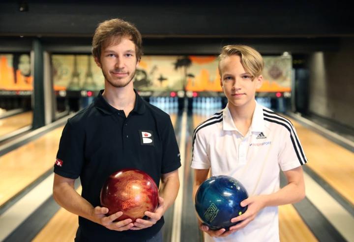 Tomas Käyhkö ja Luukas Väänänen ovat keilanneet hienosti Helsingissä isoissa kansainvälisissä kisoissa.