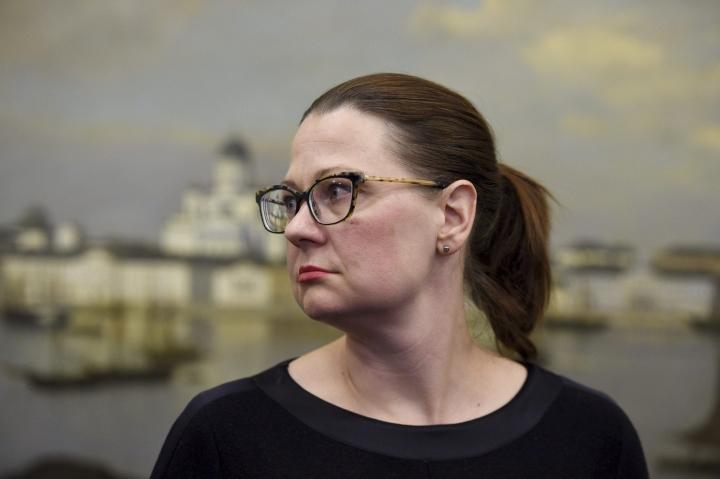 Minna Arve valittiin Turun pormestariksi. LEHTIKUVA / Martti Kainulainen