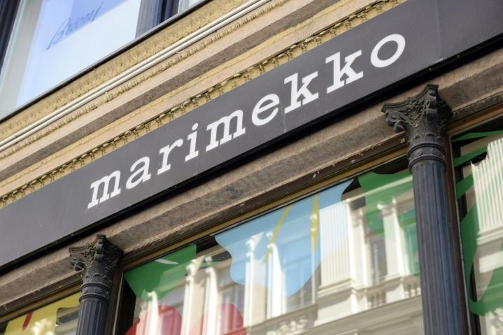 Muun muassa Marimekon vähittäis- ja tukkumyynti Suomessa kehittyi toisella vuosineljänneksellä hyvin. LEHTIKUVA / LAURA UKKONEN