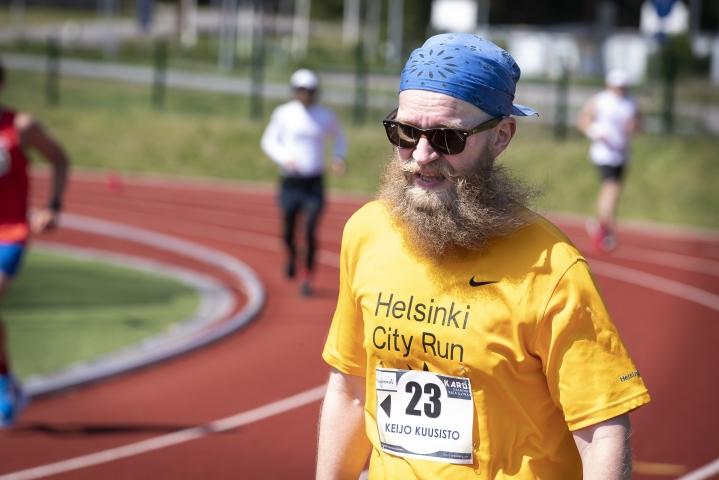 Keijo Kuusisto juoksi ensimmäisen ultramatkansa. Takana oli vuosi treeniä ja sitä ennen vuosien liikuntatauko päkiä- ja polvivaivojen vuoksi.