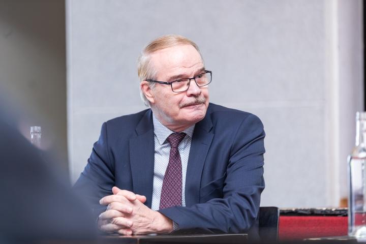 Arkistokuvassa Eero Reijonen vuonna 2019.