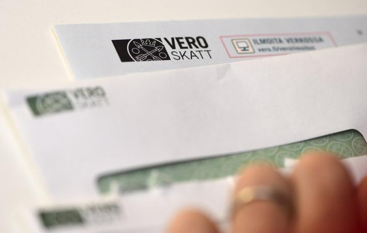 Verohallinnon mukaan verovelkaa on Suomessa enemmän kuin ennen koronapandemiaa. LEHTIKUVA / VESA MOILANEN