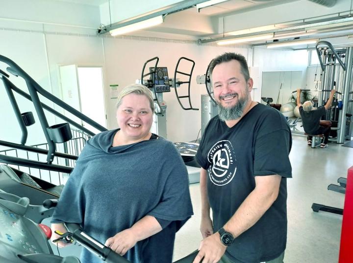 Marjo Salmensuo-Mustosen ja Mika Mustonen yhteiselo alkoi Bomban kylpylässä 1990-luvun lopulla.