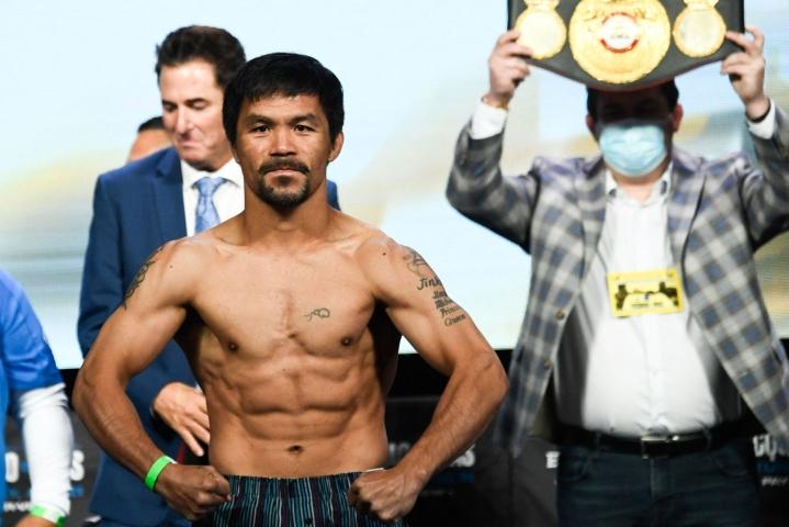 Manny Pacquiao kuuluu 2000-luvun nyrkkeilyn supertähtiin, mutta hänen edellinen ottelunsa oli heinäkuulta 2019. Lehtikuva/AFP