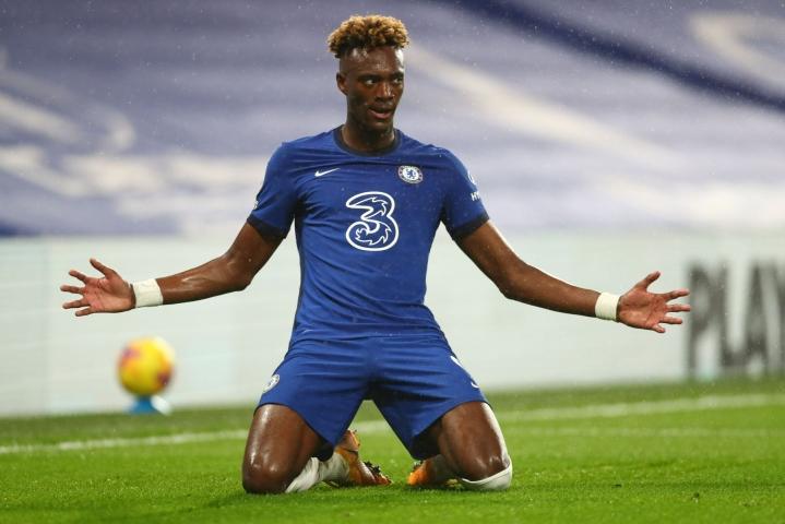 Chelseaa juniorivuosistaan saakka edustanut hyökkääjä Tammy Abraham siirtyy Italian Serie A:ssa pelaavaan AS Romaan. LEHTIKUVA/AFP