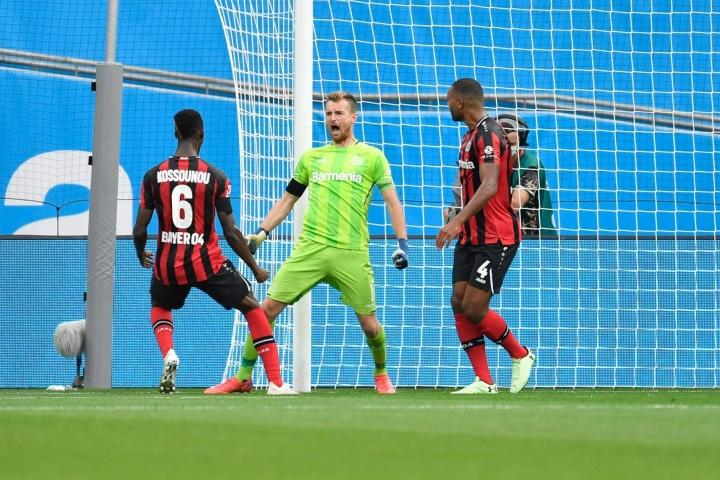 Leverkusen kukisti Mönchengladbachin 4–0 ja otti kauden ensimmäisen voittonsa.  DPA / LEHTIKUVA