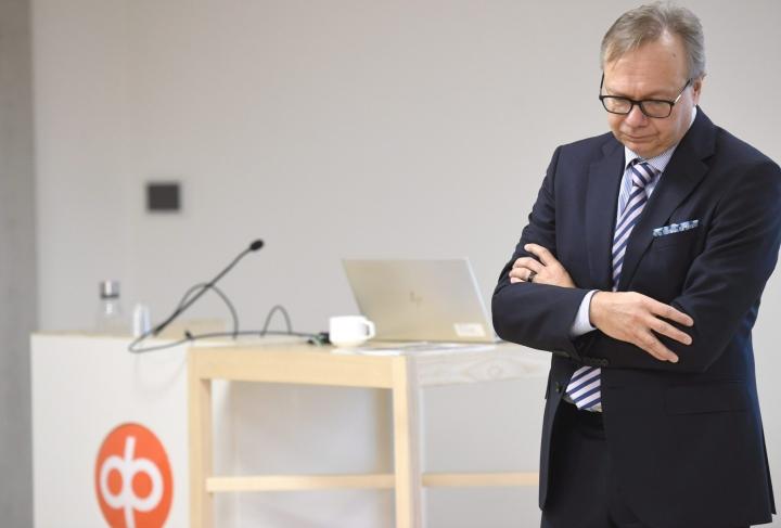 OP:n pääekonomistin Reijo Heiskasen mukaan Suomen talouden elpyminen on perustunut etenkin kulutuksen toipumiseen. LEHTIKUVA / HEIKKI SAUKKOMAA