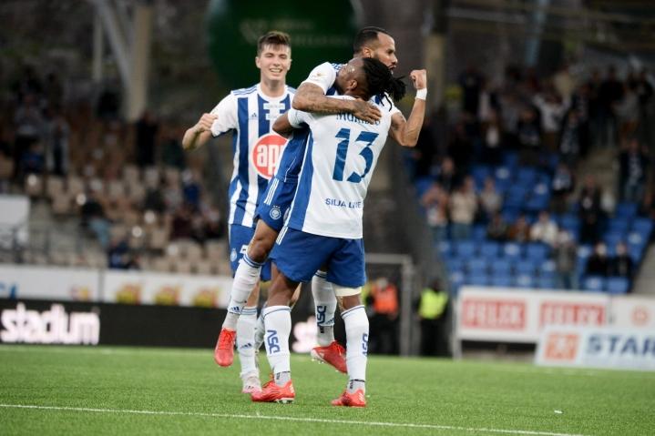 Ennen siirtoaan O'Shaughnessy keskittyy HJK:n loppukauteen. LEHTIKUVA / Mikko Stig