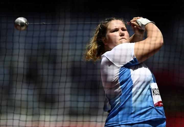 Kososen mestaruus on suomalaisten kolmas Nairobin MM-kisoissa. LEHTIKUVA / ANTTI AIMO-KOIVISTO