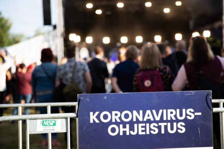 Pari viikkoa sitten Joensuussa järjestetystä Sirkkala Pop Fest -tapahtumasta ei aiheutunut koronatartuntoja.