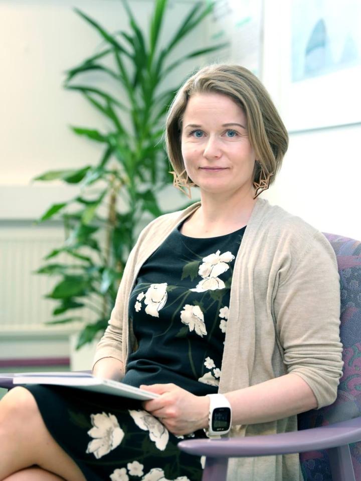 Elina Felin työskentelee muutosjohtajana ainakin vuoden 2023 vappuun asti.