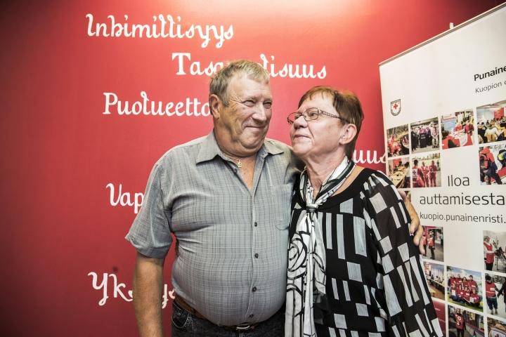 Otto Miettisen henki pelastui sydänpysähdystilanteessa, kun Sinikka Miettinen soitti heti 112-hätänumerosta apua ja aloitti sitten elvyttämisen.