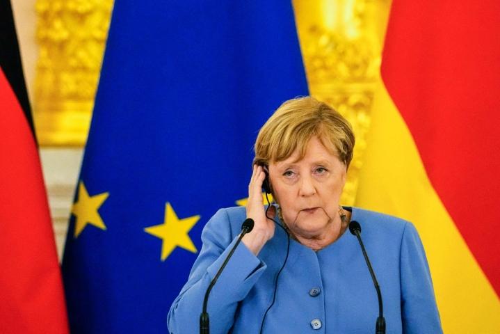 Merkel vierailee Ukrainassa, perjantaina hän vieraili Moskovassa Venäjällä. Lehtikuva/AFP