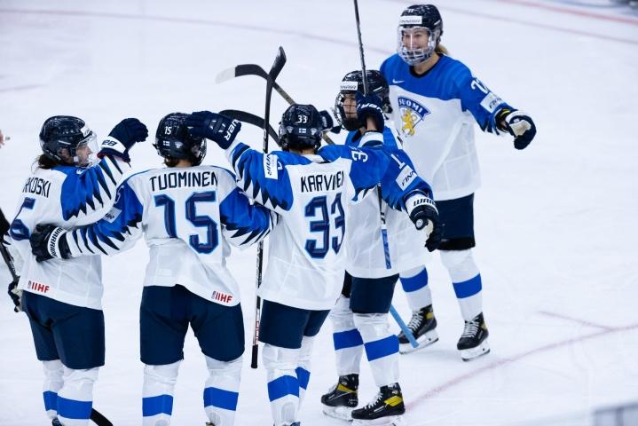 Turnauksen aluksi Suomi hävisi Kanadalle 3–5. LEHTIKUVA / Handout / Suomen jääkiekko / Tiina Puputti
