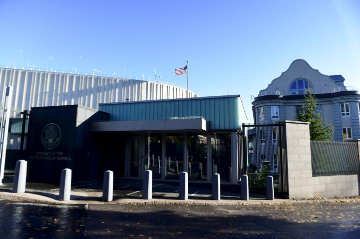 Yhdysvaltojen Suomen-suurlähetystön julkaisemasta tiedotteesta ei tarkemmin käy ilmi, miten Suomi on maata auttanut. LEHTIKUVA / Vesa Moilanen