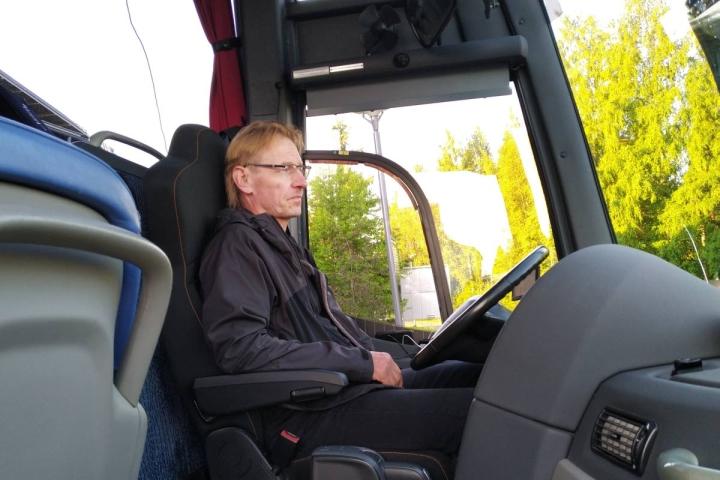 Heinäkuussa 2020 Ilpo Saarelainen starttasi vaellusrippikoululaisten kanssa kohti Lappia.