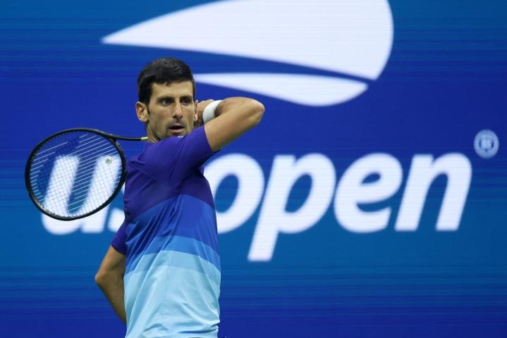 Djokovic on voittanut urallaan 20 grand slam -turnauksen kaksinpelititteliä. LEHTIKUVA/AFP