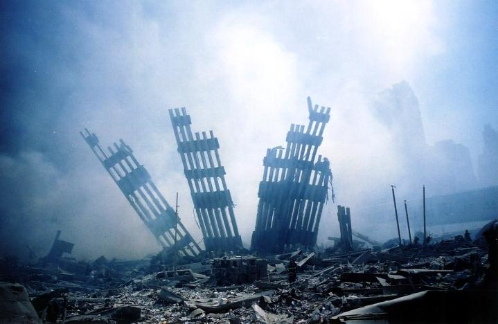 Syyskuun 11. päivän iskun uhrien omaiset ovat toivoneet saavansa salatuista muistiosta vahvistusta väitteelleen, että Saudi-Arabia oli osallisena tapahtuneeseen. LEHTIKUVA/AFP