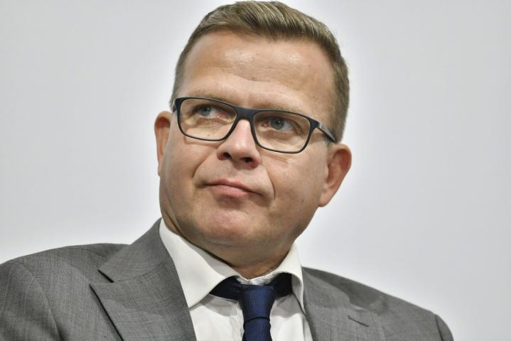 Syyskuun kannatuskyselyn mukaan Petteri Orpon johtamaa kokoomusta äänestäisi 20,8 prosenttia, jos eduskuntavaalit pidettäisiin nyt. LEHTIKUVA / HEIKKI SAUKKOMAA
