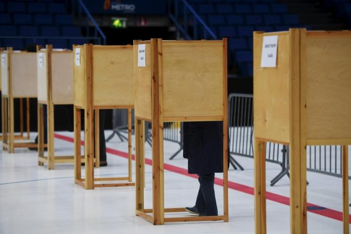 Ensimmäiset aluevaalit järjestetään 23. tammikuuta. Aluevaaleissa valitaan aluevaltuustot uusille hyvinvointialueille. LEHTIKUVA / Silja-Riikka Seppälä