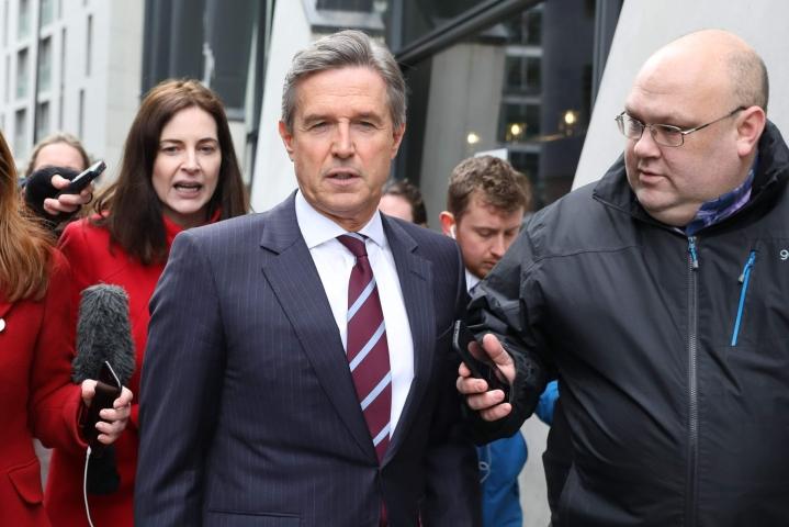 Aston Villan toimitusjohtaja Christian Purslow arvioi BBC:lle, että seurat ovat tilanteesta hyvin hermostuneita. LEHTIKUVA/AFP