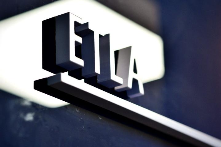 Ensi vuonna Etla ennustaa Suomen kokonaistuotannon kasvavan 3 prosenttia. LEHTIKUVA / Aku Häyrynen
