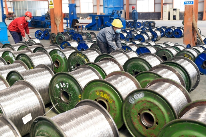 Alumiini on nyt kalleimmillaan moneen vuoteen. Lehtikuva/AFP