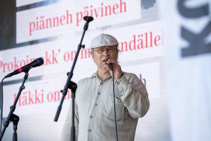 Timoi Munne kuvattuna kesällä 2021.
