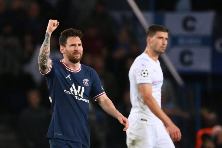 Ottelu oli loppukesästä PSG:hen siirtyneelle Lionel Messille (vas.) neljäs uudessa seurassaan. LEHTIKUVA / AFP