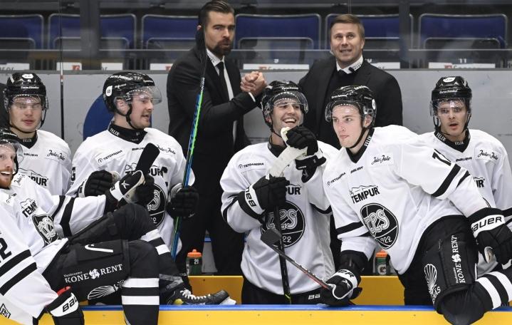 TPS sai hyvityksen viime kevään finalistien kohtaamisessa. LEHTIKUVA / Heikki Saukkomaa