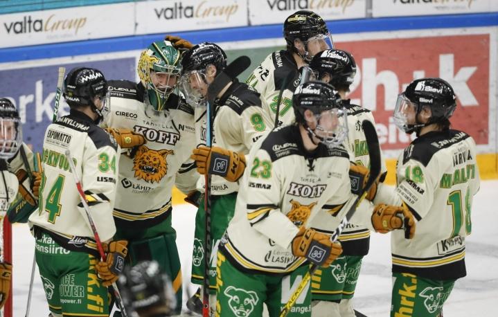 Ilves voitti kauden ensimmäisessä paikallispelissä Tapparan. LEHTIKUVA / Kalle Parkkinen