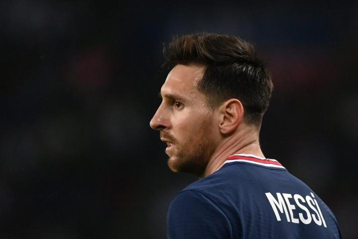 Valtavan mediamylläkän saattelemana Barcelonasta PSG:hen elokuussa saapunut Messi on pelannut uudessa seurassaan vasta kolmessa ottelussa. LEHTIKUVA/AFP