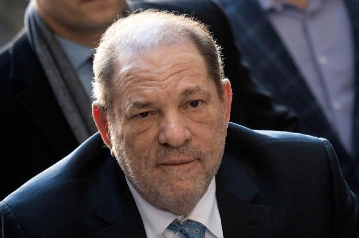 Weinstein istuu jo New Yorkissa pitkää vankilatuomiota seksuaalirikoksista. LEHTIKUVA/AFP