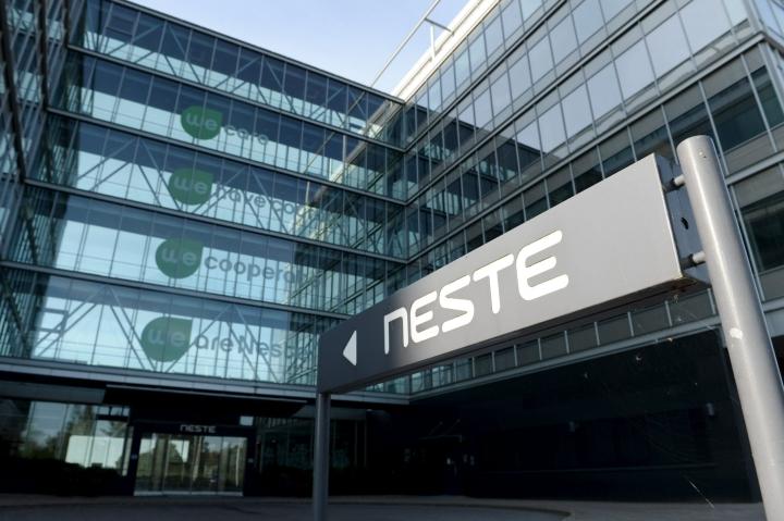 Uusiutuviin polttoaineisiin satsaava Neste vankistaa raaka-aineiden hankintaa Pohjois-Amerikassa. LEHTIKUVA / Mikko Stig