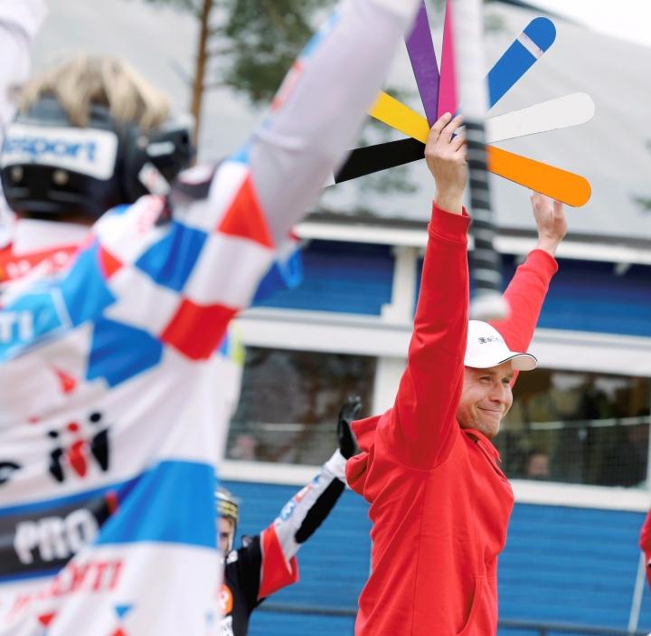 Mikko Huotari työskenteli Kiteen Pallon pelinjohtajana vuosina 2015 ja 2016.