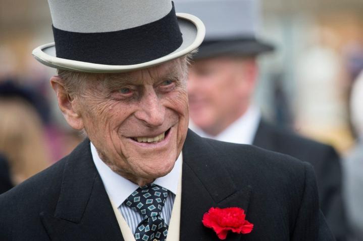 Prinssi Philip kuoli huhtikuussa 99-vuotiaana. Lehtikuva/AFP