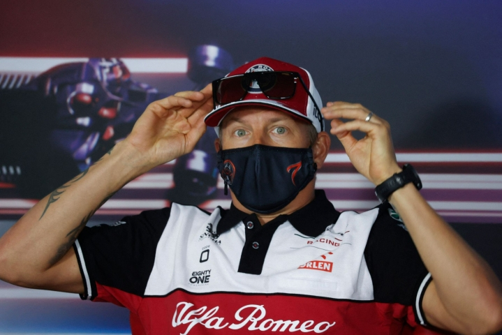Kimi Räikkönen kertoo lopettavansa pitkän uransa F1-kuljettajana. Lehtikuva/AFP