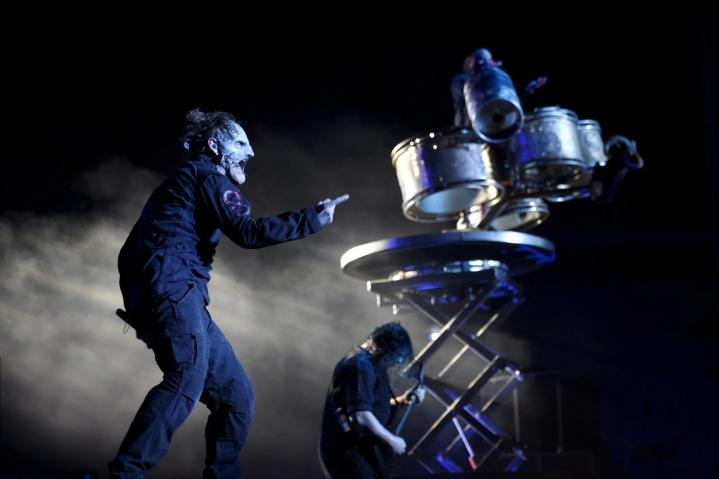 Slipknot-yhteen tältä vuodelta siirtynyt Suomen-konsertti kasvaa ensi vuonna kaksipäiväiseksi festivaaliksi. LEHTIKUVA / ANTTI AIMO-KOIVISTO