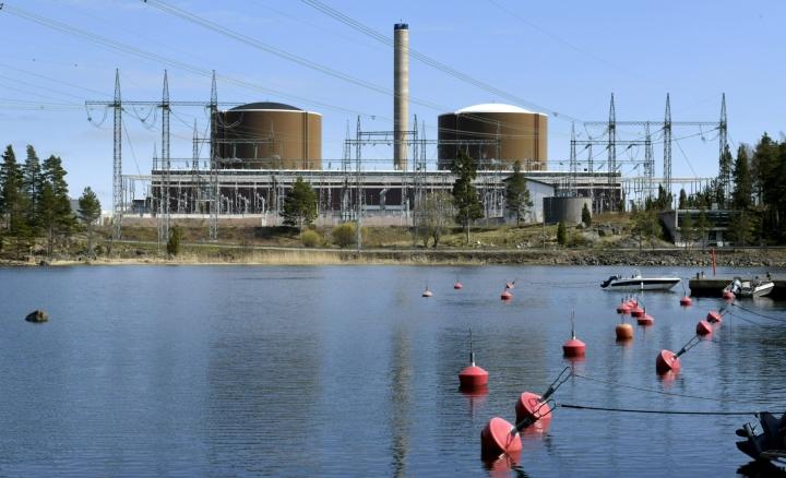 Viime vuonna Loviisan ydinvoimalassa tuotettiin 7,8 terawattituntia sähköä, yli 10 prosenttia Suomen sähköntuotannosta. LEHTIKUVA / Heikki Saukkomaa