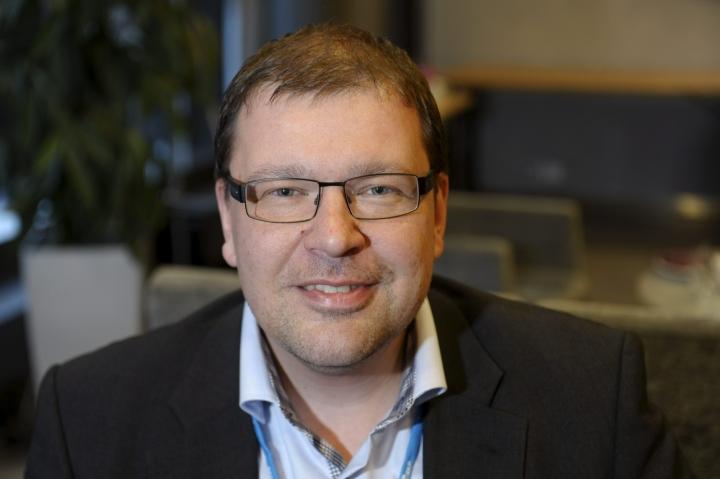 Michael Oksanen irtisanoutui pääsihteerin tehtävästä toukokuussa. LEHTIKUVA / Heikki Saukkomaa