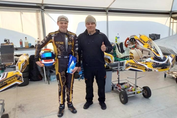 Roope Silvonen on ajanut onnistuneen kauden yhteistyössä mekaanikko Jesse Anttilan kanssa. Silvonen kisaa seuraavaksi 15.-23. lokakuuta Italiassa.