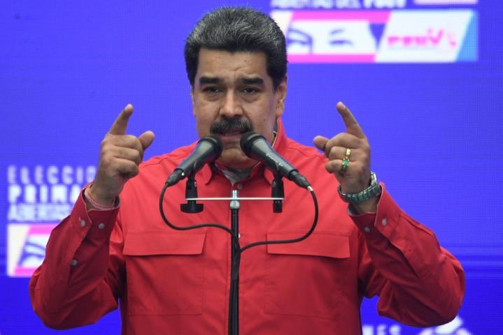 """Presidentti Maduro kuvaili neuvottelutulosta """"menestyksekkääksi venezuelalaisille"""".  Arkistokuva. Lehtikuva/AFP"""