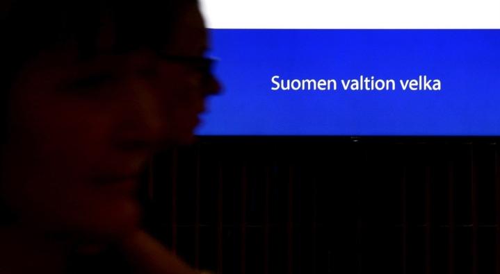 Suomen valtionvelka oli valtiovarainministeriön mukaan heinäkuun lopussa 129,3 miljardia euroa. LEHTIKUVA / MARKKU ULANDER
