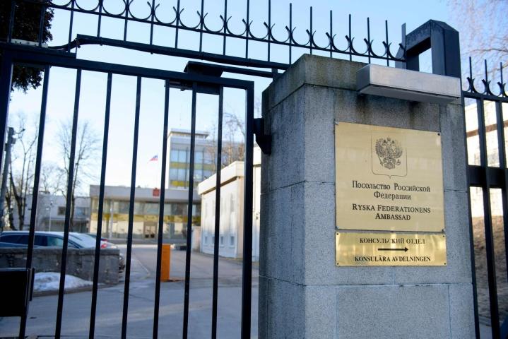 Syyttäjän mukaan mies oli saanut työssään konsulttina ruotsalaisyrityksistä tietoja, joita hän myi eteenpäin venäläisille.  LEHTIKUVA / AFP