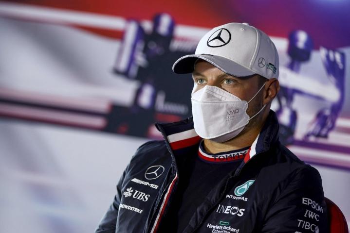 Valtteri Bottas allekirjoitti monivuotisen sopimuksen Alfa Romeon kanssa. LEHTIKUVA/AFP
