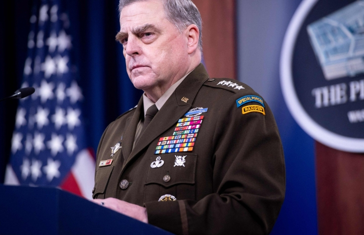 Yhdysvaltain asevoimien komentaja Mark Milley