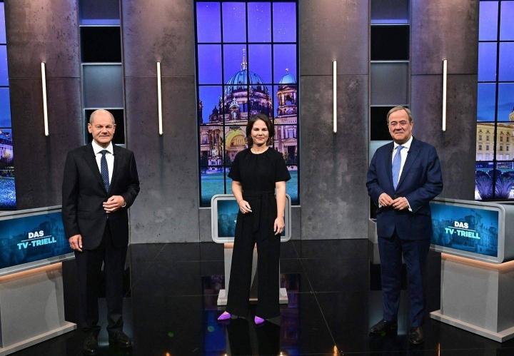 SPD:n Olaf Scholz, vihreiden Annalena Baerbock ja CDU:n Armin Laschet kohtasivat sunnuntaina viimeisessä liittokansleriehdokkaiden debatissa ennen ensi sunnuntain vaaleja.