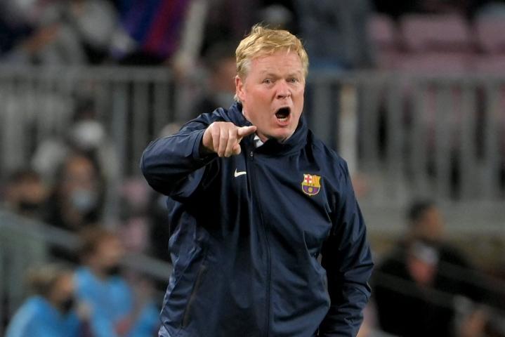 Hollantilaisvalmentaja Ronald Koemanin valmentama suurseura Barcelona on voittanut kauden viidestä pelistään vain kaksi. LEHTIKUVA / AFP