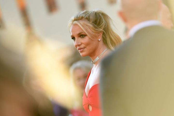 Britney Spears on pyrkinyt oikeusteitse saamaan isänsä pois holhousvastuusta. LEHTIKUVA/AFP
