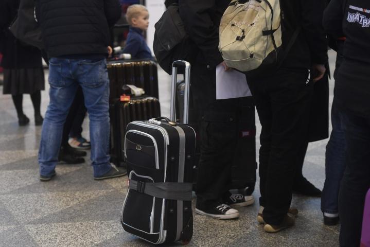 Ulkomaisten matkailijoiden yöpymisten määrä oli 66 prosenttia alempana kuin elokuussa 2019. LEHTIKUVA / VESA MOILANEN